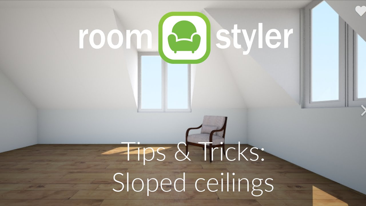 Roomstyler tips and tricks sloped roofs youtube for Roomstyler com