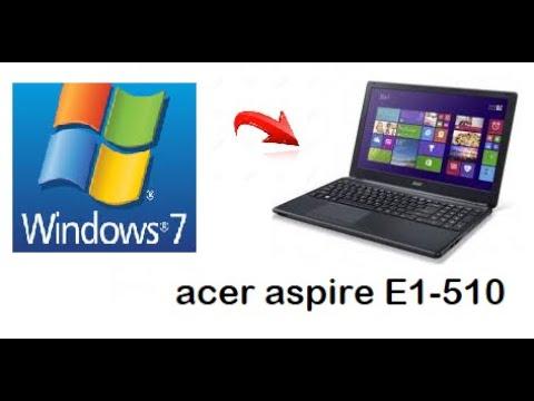 Windows 7 Sur Acer Aspire E1 510