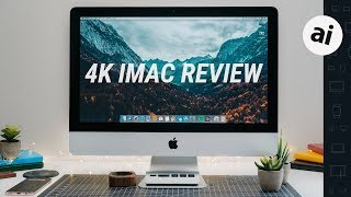 2019 iMac 4K Review - Base Model