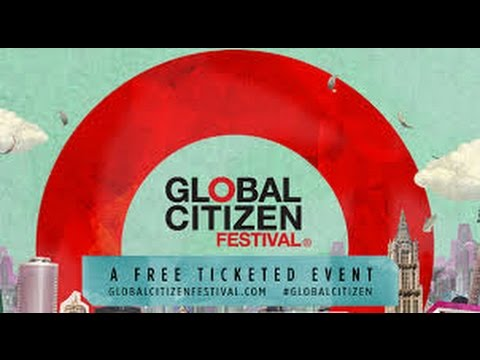 Coldplay Live a Global Citizen 2015