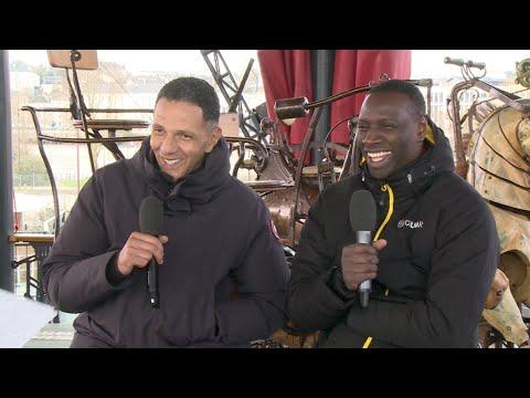 "Omar Sy et Roschdy Zem : le ""Chocolat"" Show"