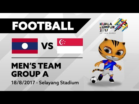 KL2017 Football - LAO 🇱🇦 vs SGP 🇸🇬 | 18/08/2017
