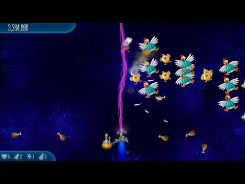 Let's play Chicken Invaders 5 - Cluck of the Dark Side - Chapter 1 - Shot in Dark |