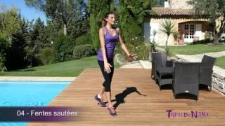 Exercices de Fentes : sautées, alternées, croisées...