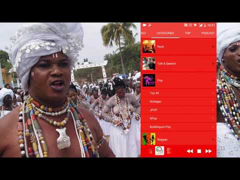 Togolese Radio Live (Online Mobile app For android) / Radio togolaise en direct
