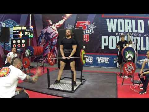 Сакович Олег строгий подъем на бицепс 97,5 кг