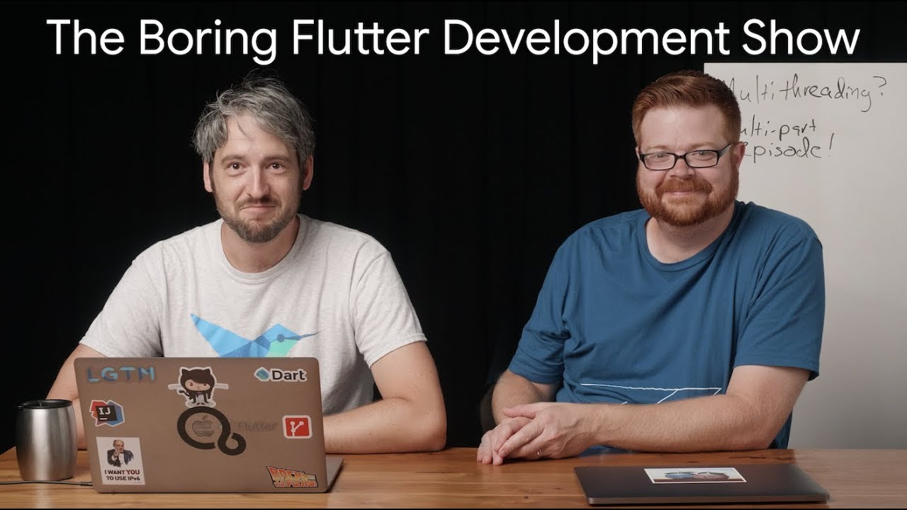 Isolates and multithreading in Flutter Part 2 (The Boring Flutter Development Show, Ep. 31)