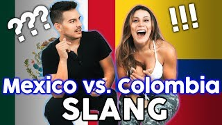 Mexican Vs Colombian Slang!!! Which Spanish Is Better??  The Royalty Family
