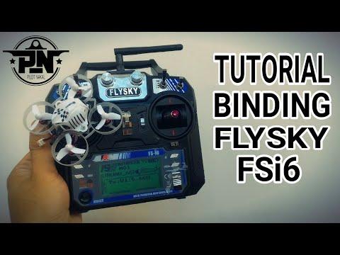 Flysky FSi6 - Tutorial Setting & Binding / Konek Uruav UR65 / Eachine US65 / Mobula 7 INDONESIA
