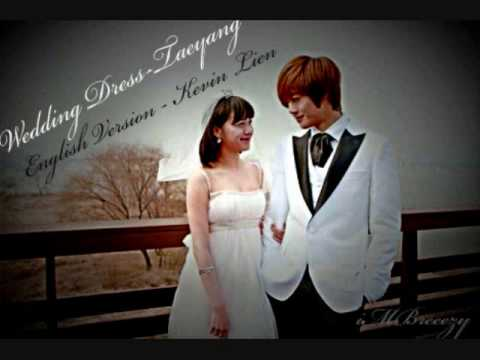 download taeyang wedding dress english version by kevin lien w lyrics