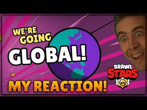 BRAWL STARS GLOBAL! :: MY LIVE REACTION!