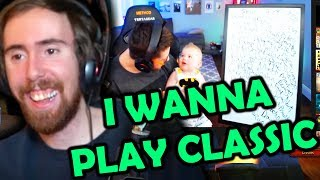 "Asmongold Reactions: ""Classic makes me WANT to play World of Warcraft (Classic Beta)"" by Method Cdew"