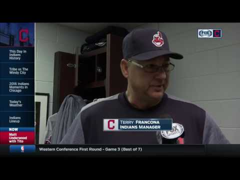 Terry Francona on how he'll construct Indians lineups upon Jason Kipnis' return