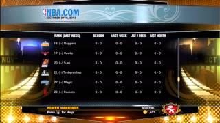 NBA 2K13 Raptors Association   2013 Draft & Free Agency
