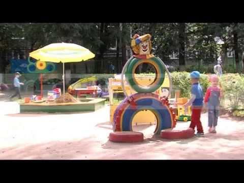 Лучшее оформление двора в детском садике от 16.07.2015