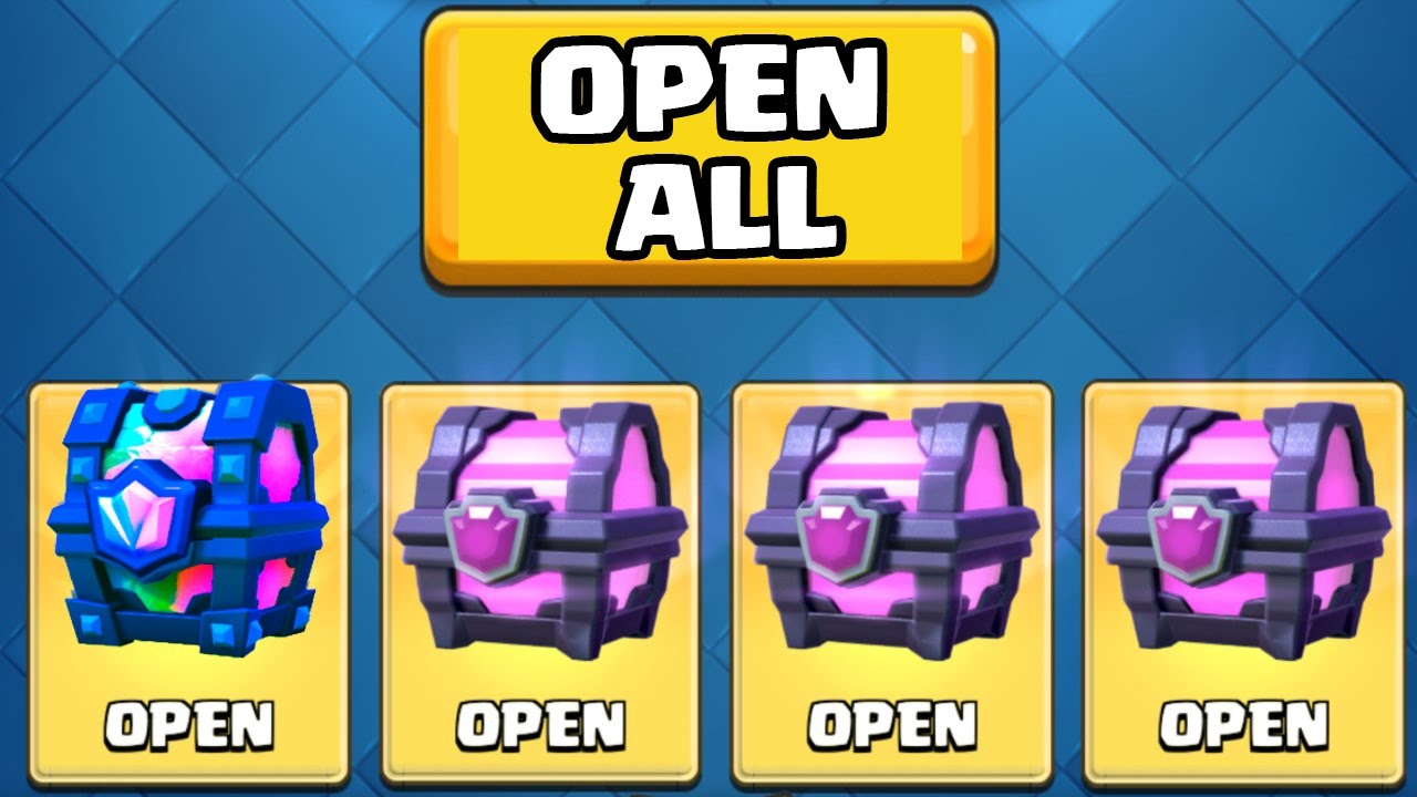 LEGENDARY CHEST OPENING :: Clash Royale :: TWO LEGENDARY CARDS FROM CHESTS!