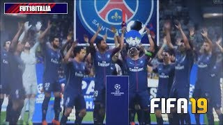 FIFA 19 FULL Match gameplay - Juventus - PSG finale Champions League - Partita completa