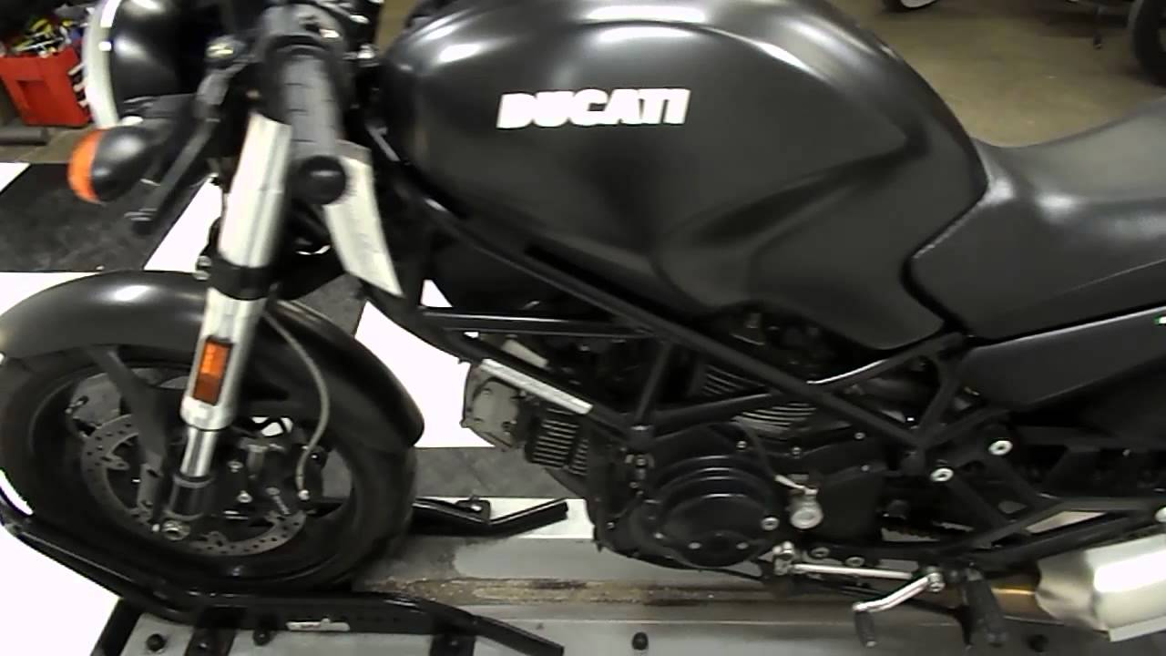 2007 ducati monster 695 black - used motorcycle for sale - eden