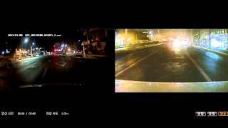 블랙박스용 샤크안테나 후방감시카메라 야간영상