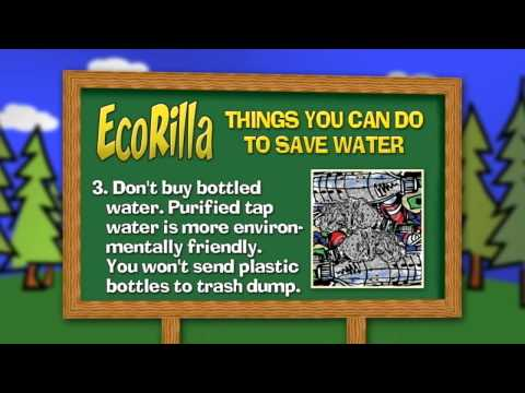 Help the Environment- The Adventures of EcoRilla Episode 1 - EcoWater Canada