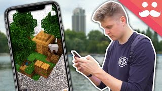 i got to play minecraft earth early