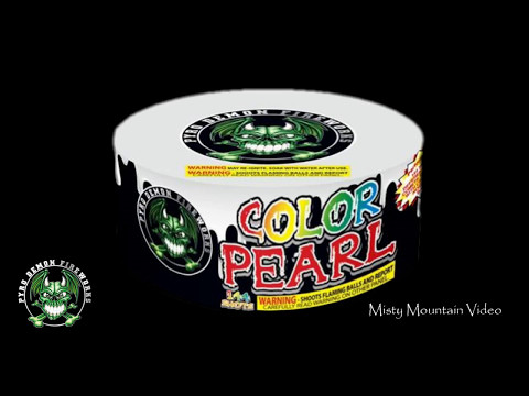 144 Shot Color Pearl W/Report
