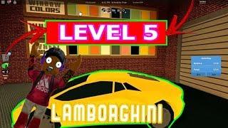 Roblox → JailBreak Lamborghini Level 5 !