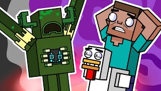 WARDEN ATTACK & Cryṡtal Caves | Block Squad (Minecraft Animation)