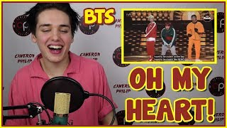 [BTS BANGTAN BOMB] GO GO (HEART VER.) BEHIND THE STAGE REACTION [LUV]