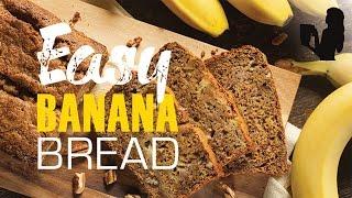Healthy Banana Bread Recipe In A Vitamix Or Blendtec