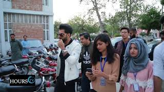 Bilal Saeed in an Event at UET Lahore
