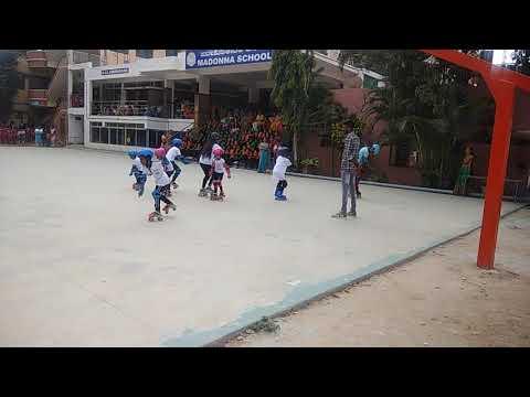 Madonna school Childrens sports day celebration