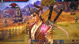 TERA Level 24 Warrior solo Gameplay Commentary by FahrosTTTT