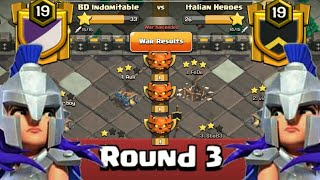 Clan War Leagues Attack - TH12 Attacks - Champion 1- Round 3 (Season 8)   Clash Of Clans