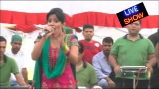 Kulbir Jhinjer And Miss Pooja Live Performance punjabi songs 2016 latest this week