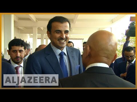 🇶🇦 🇺🇸 Qatar emir, Trump to hold talks on Gulf crisis | Al Jazeera English