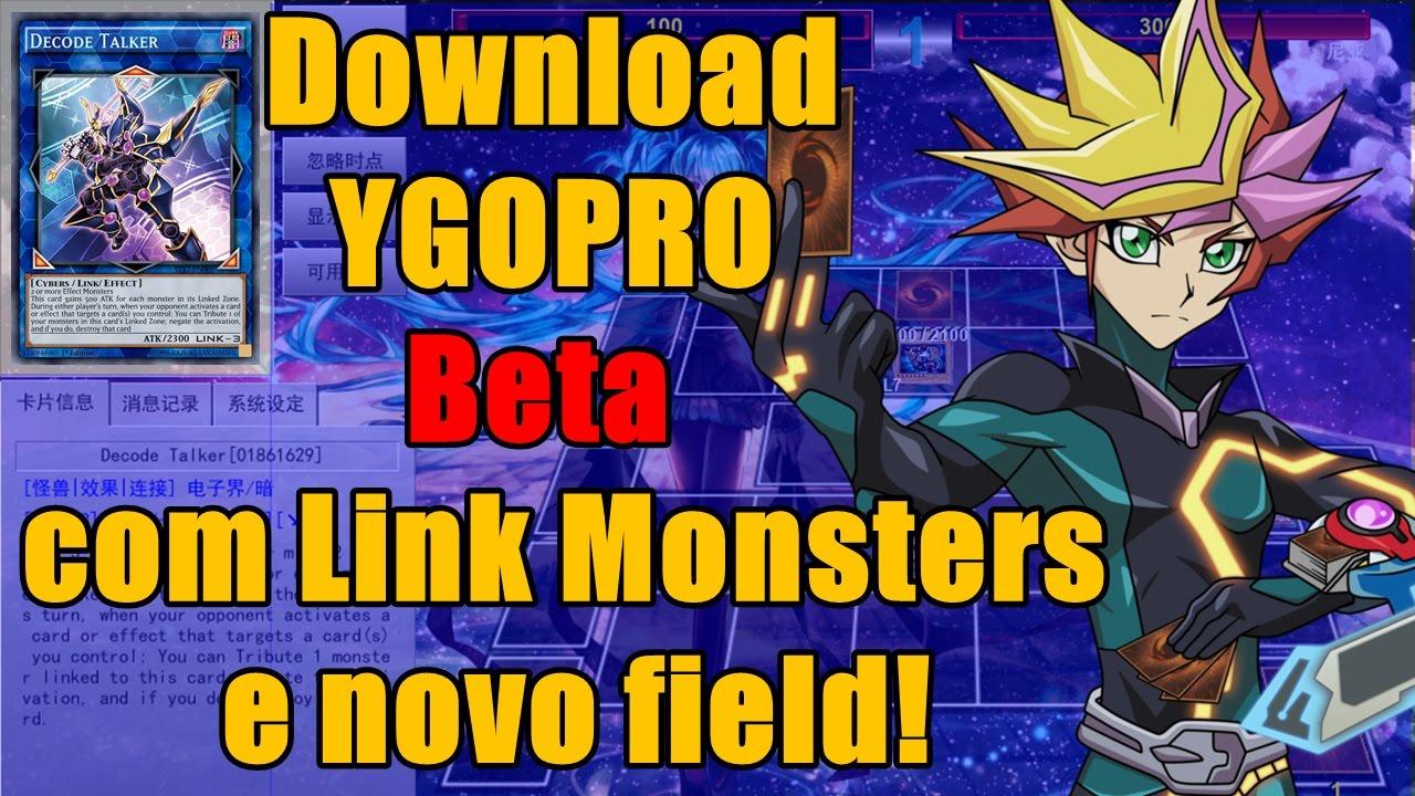 Download YGOPRO com Link Monsters e novo Field (Beta Test)