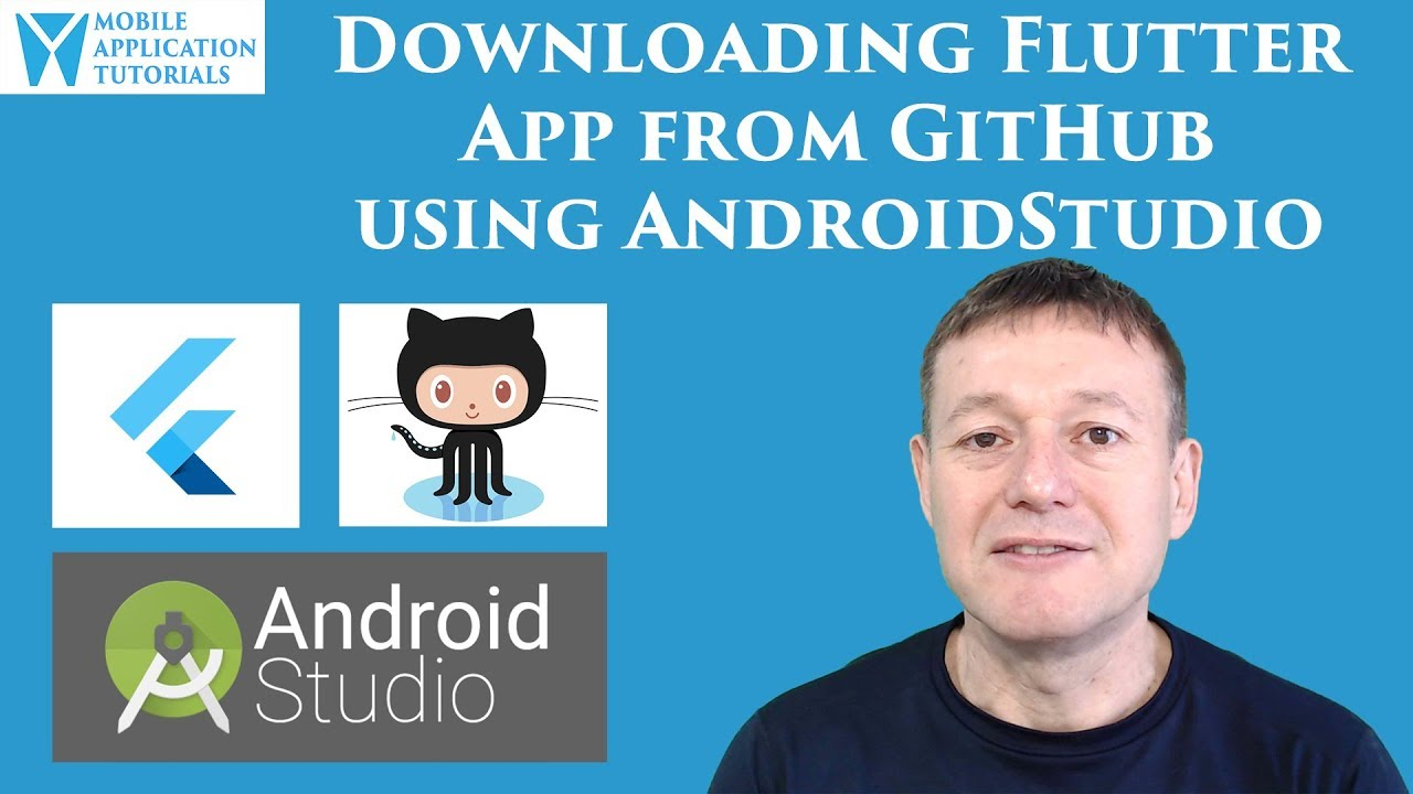 Download Flutter project from GitHub using AndroidStudio