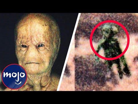 Top 10 Alien Close Encounters in Britain