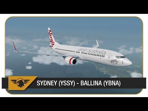 [Prepar3D v3] Virgin Australia | Sydney (YSSY) - Ballina (YBNA) | VATSIM | Full ATC | #ripAblai