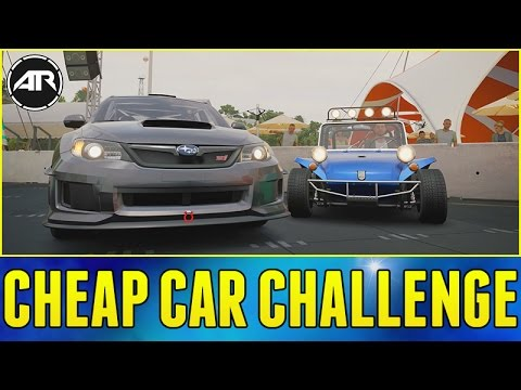 Forza Horizon 3 Online : CHEAP CAR CHALLENGE!!!