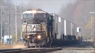 Norfolk Southern Cleveland Line Railfanning October And November 2015