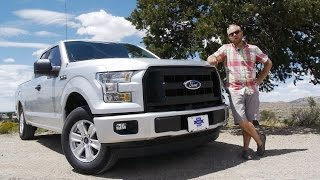 2015 Ford F150 2.7 EcoBoost SuperCab 4x2: The best F150 choice... Review and Test Drive