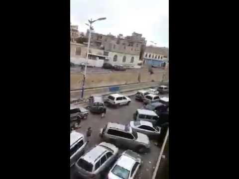 فيديو: علي عبدالله صالح يظهر في مطعم شعبي بمدينة صنعاء