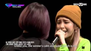 [ENG SUB] KittiB vs Heize Diss Rap Battle