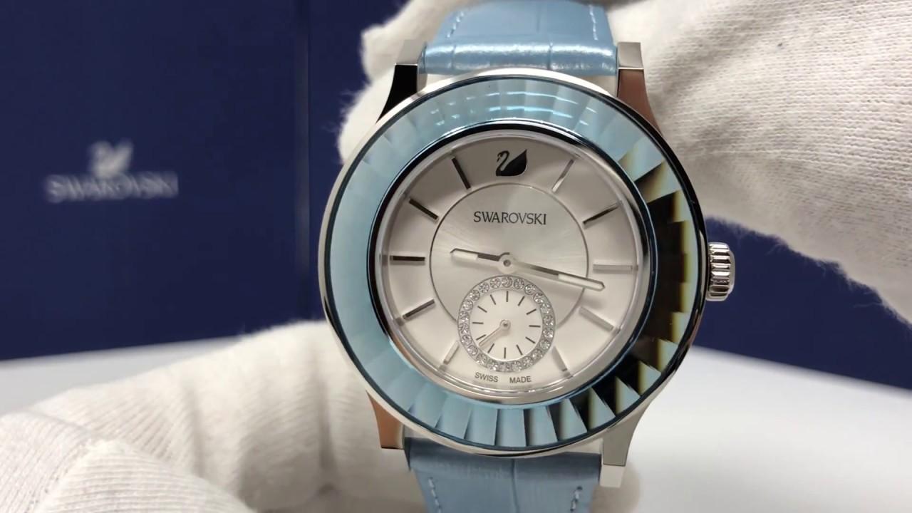 Swarovski Ladies Watch Octea Classica Light Blue 5131874 Youtube