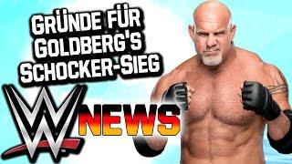 Gründe für Goldberg's Schocker-Sieg, John Cena im neuen Marvel Film | WWE NEWS 93/2016