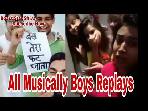 Tera Ghata Musically 4 Girls Vs Boys By Roast Star Shiva
