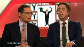 """Roger Köppel: """"Euch sind die Sicherungen durchgebrannt!"""" 03.05.2017 Maischberger - Bananenrepublik"""