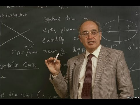 "Michael Atiyah, Lecture series 4/4 ""Real Differential Operators"" [2008]"